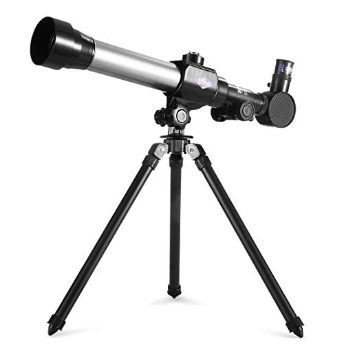 HSTYAIG Telescope for Kids, Science Telescope with Tripod 3 Eyepieces, Travel Scope Exploration Toys Portable Telescope for Children & Beginners from HSTYAIG