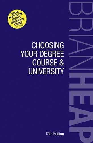 Choosing Your Degree Course & University pdf