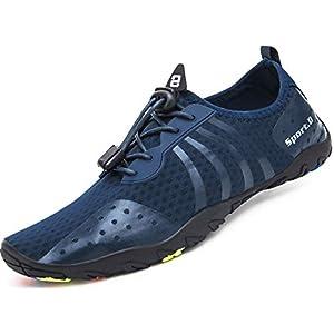 Mabove Chaussures Aquatique Homme Femme Chaussures de d'eau Chaussures de Plongée Surf Natation pour Piscine et Plage…