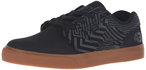 DC Men's Tonik KB Skate Shoe, Black/Grey/Brown, 7.5 M US