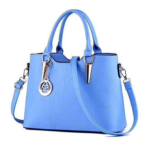 de Bolso Mano Bolso Gules azul celeste Bolso Bolsa Gxinyanlong de Mujer Moda de de Hombro Zqf5EYn