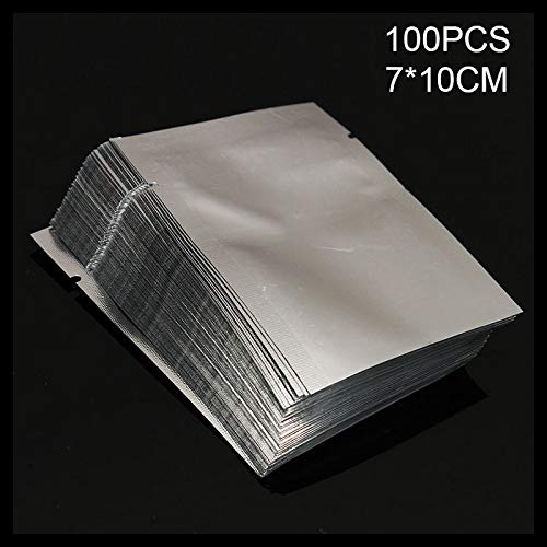 Teekit 100 Bolsas selladoras al vacío de Aluminio de Grado ...