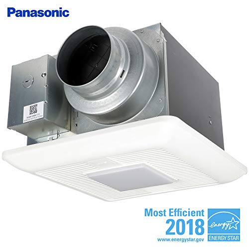 Panasonic FV-05-11VKSL2 WhisperGreen Select Fan/Light Combination, Customizable Ventilation Fan, Pick-A-Flow Speed Selector, Long Lasting, Easy to Install, Energy Star Certified, White For Sale