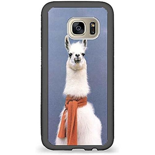 Custom Phone Cases Design for Samsung Galaxy S7 - Cute Alpaca back phone cases Sales