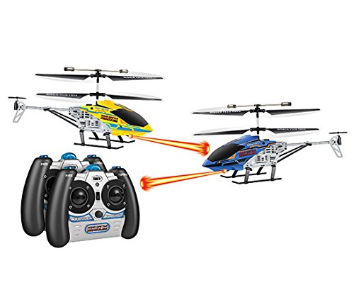 World Tech Toys Nano Battle Hercules Laser Tag 3.5CH IR RC Heli (Pack of 2)