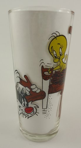 (Pepsi Collector Series Glass, Sylvester and Tweety)