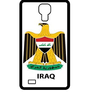 Iraq - Country Coat Of Arms Flag Emblem Black Samsung Galaxy S4 i9500 Cell Phone Case - Cover