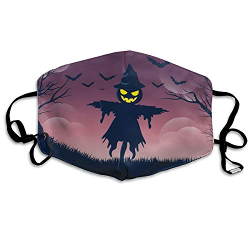 Anti Dust Face Mouth Cover Mask Halloweeen Scarecrow Anti Pollution Breath Healthy Mask
