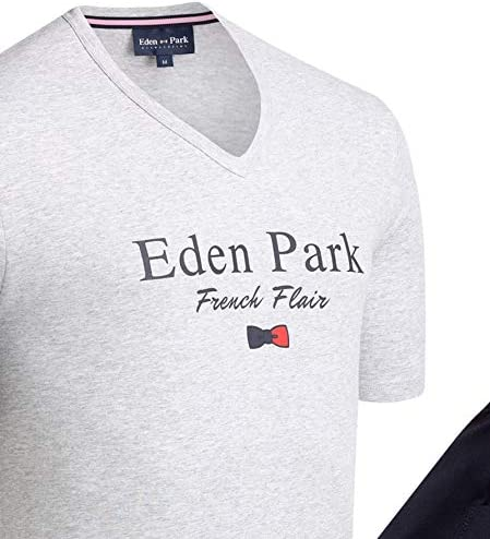 EdenPark Pyjama Court Coton Fleuri C27 Horizon