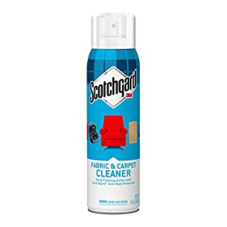 Scotchgard 410716 Fabric & Carpet Cleaner Deep Foaming Action Anti-Stain Protection, 16.5 Oz, 16 Fl Oz