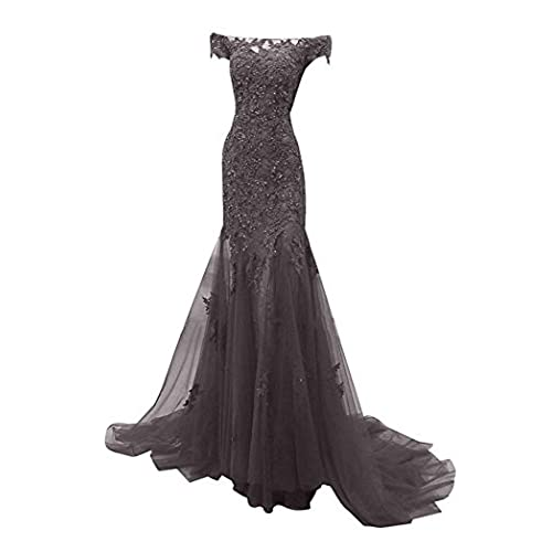 Dark Grey Mermaid Dress Amazon