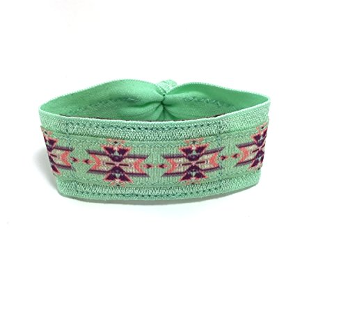 Ankle Mint (Mint Green Print Wrist or Ankle Band for Fitbit Flex / Flex 2 / Alta)