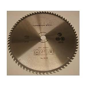 Hoja para sierra Circular de Metal 400 mm con calibre tamaño DE 30/25/16 mm 72 dientes finos cortes