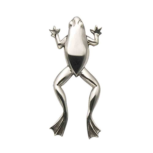 Wild Things Sterling Silver Leaping Tree Frog Pendant