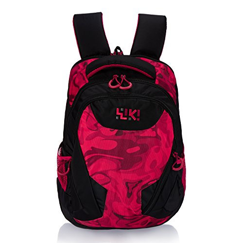 Wildcraft Daypack Polyester 34 Ltrs Red School Bag