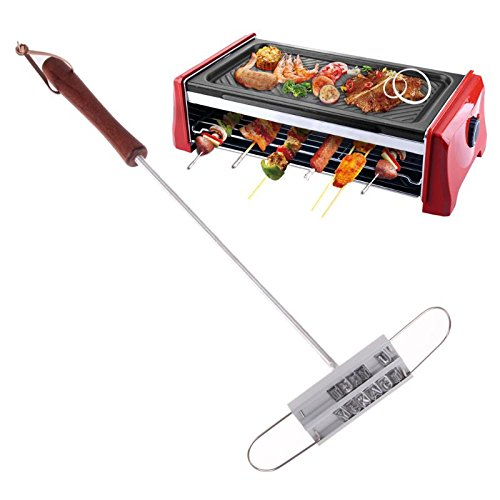 Masher Chrome (BACOHO | Tongs | 43cm BBQ Branding Iron Tong 55 Letters DIY Barbecue Letter Printed BBQ Steak Tool Meat Grill Forks Barbecue Tool Accessories)