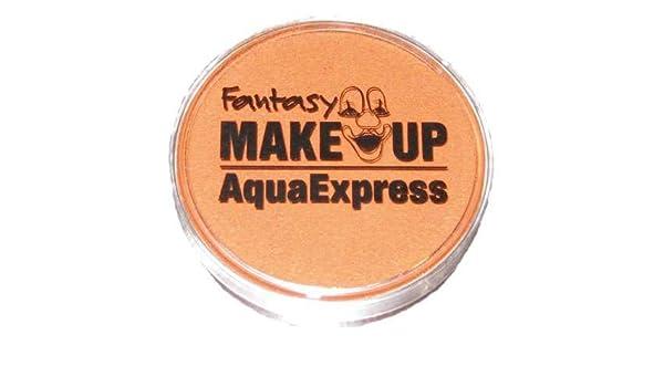 PINTURA corporal maquillaje Aqua sombra de l agua máscara facial - marrón indio: Amazon.es: Belleza