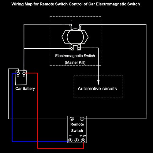 Car Wireless Remote Control Battery Switch Disconnect