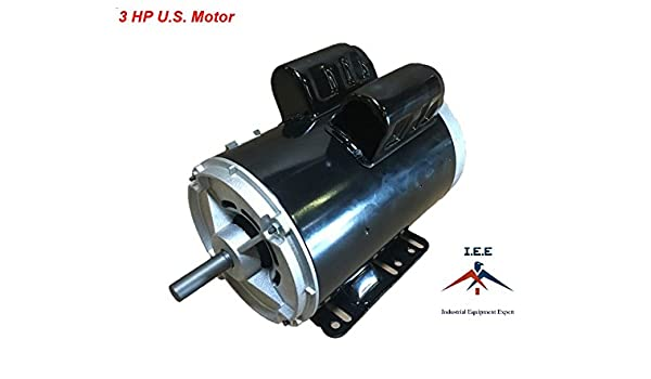 Amazon.com: 3 HP 3450 RPM, 56 Frame, 230V, 15Amp, 5/8