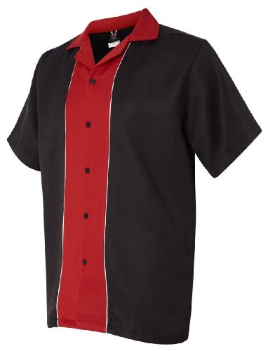Hilton Bowling Retro Quest (Black_Red) (M)