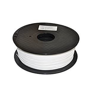 3D Printing Filament PLA 1.75mm White 1KG 3D Printer Filament , Dimensional Accuracy +/- 0.05 mm, 1 kg Spool, 1.75 mm, White,For 3D printer and 3D pen by Suzhou Polyking Composites Co.,Ltd