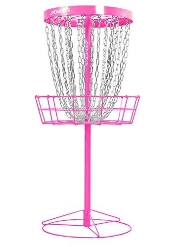 Axiom Discs Pro 24-Chain Disc Golf Basket - Hot Pink