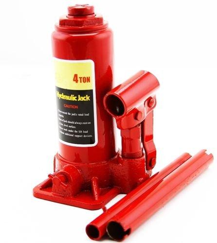 4 Ton Hydraulic Bottle Jack 8000lb Lift Heavy Duty Automotive