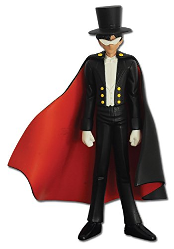 "Great Eastern Sailor Moon 5.5"" Tuxedo Mask Figure"