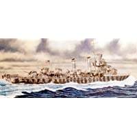 1/700 U.S. Navy destroyer Benson W65 (japan import)
