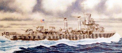 Skywave 1/700 WWII US Destroyer USS Benson DD421 Model Kit