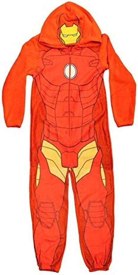 Marvel Avengers Grenouill/ère pour enfants avec personnages Iron Man Captain America Hulk Black Widow Pyjama pour gar/çon et gar/çon
