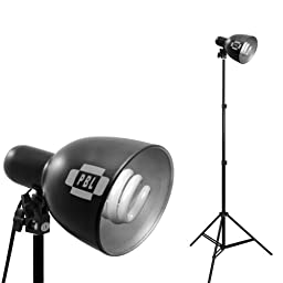 PBL 600 Watt Photo Studio Potrait Lighting Kit Three Light Video Kit Steve Kaeser Photographic Lighting & Accessories