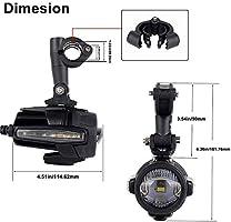 DRL Gelber Lichtblinker mit Schutzkabelsatz f/ür Motorrad K1600 R1200GS F800GS DUCATI 50W Motorrad LED-Zusatzscheinwerfer Nebelscheinwerfer
