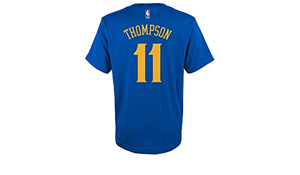 Adidas Juventud Golden State Warriors Klay Thompson Reproductor Camiseta, Azul, Azul: Amazon.es: Deportes y aire libre