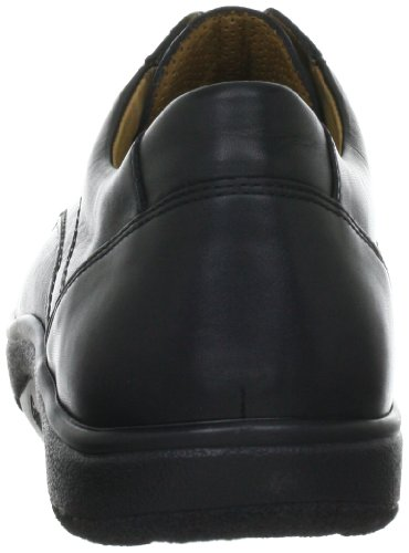 Ganter AKTIV Heimo, Weite H 4-259601-01000 - Zapatos de cordones de napa para hombre Negro