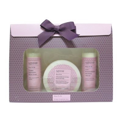 Price comparison product image SANCTUARY SPA MUM TO BE PURE PAMPER BAG COLLAGEN BOOSTING BODY BUTTER GIFT SET