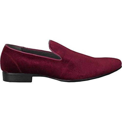 Velvet Loafer Shoe Leather bravo Klein Dress with Lining 7 Men R41nv