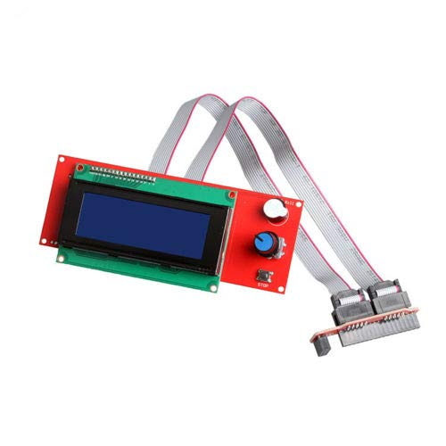FidgetFidget Smart 2004 LCD Controller Panel SD Card Reader for 3D Printer Reprap Ramps