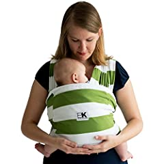 Baby K'tan Print Wrap Baby Carrier - Enjoy frustration-free, hands-free babywearing and keep your baby close with the award winning Baby K'tan Print Baby Carrier. Quick and easy to get in place, this infant holder is a ready-to-wear wrap-styl...