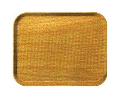 Carlisle 2310WFG092 Fiberglass Glasteel Wood Grain Metric Tray, 23.19