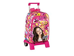 Soy Luna School Bag 42CM Mochila Bolso Escolar Carro: Kitchen & Dining