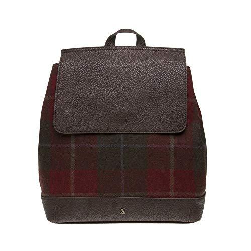 Backpack Mujer Trippa Tweed Rojo Joules gSwZ8t4Oq4