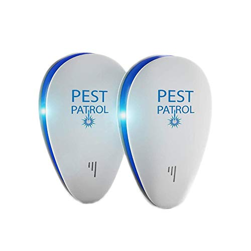 Pest Patrol 2-Pack Ultrasonic Pest Repeller & Bug Repellent