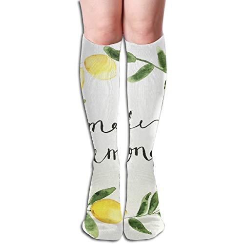 (Socks Make Lemonade Personalized Womens Stocking Holiday Sock Clearance for Girls)