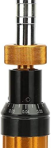 トルクドライバー、調整可能なトルクドライバー合金鋼プリセットタイプ0.1-0.6N.mトルクドライバー携帯電話カメラコンピュータータブレットラップトップ修理用ハンドヘルドメンテナンスツール