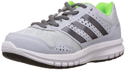 adidas Duramo 7 K - Zapatillas de running para niño Gris / Verde / Blanco
