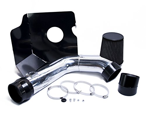 BLACK 04 05 2004 2005 CHEVY CHEVROLET SILVERADO 2500HD / 3500 6.6 6.6L V8 DURAMAX LLY COLD AIR INTAKE KIT
