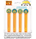 Despicable Me 2 Bubbles and Wands – 4 Count