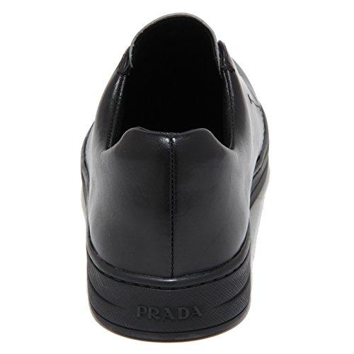 Prada Nero 6616n Sport argento Slippers Nero Women Scarpe Sneaker Donna Zq5xqP4w