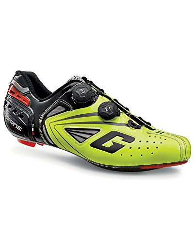 Gaerne Carbon G. Chrono Schuhe Racefiets, Gele Fluo - 42